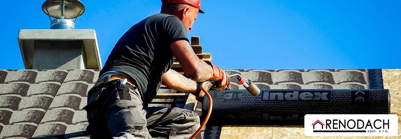 Technológia obnovy strechy
